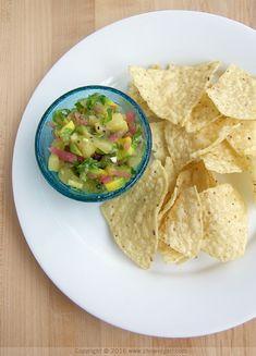Kiwi salsa sounds so fresh and summery!  via @chowvegan