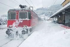 Blizzard Express - Rhaetische Bahn (Copyright Kekko)