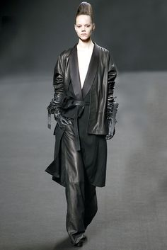 Haider Ackermann Fall 2011 RTW