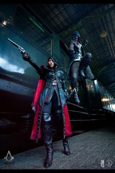 Assassin's Creed Syndicate Evie and Jacob Frye cosplay  Check out my blog ApertureGaming.net for more great PC gaming content!