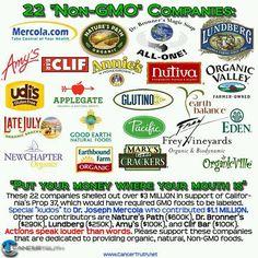 Non-GMO companies