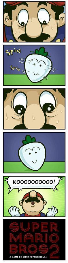 Super Mario Inception - Dorkly Comic