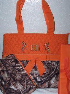 CUSTOM HANDMADE MOSSY OAK CAMO DIAPER BAG SET/3 WIPE CASE & BURP ... : quilted camo diaper bag - Adamdwight.com
