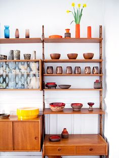 how are these shelves hung up? the shutterbugs: julie ansiau.