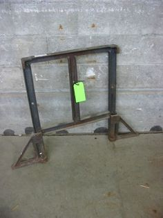 Your future kitchen table.  Vintage Cast Iron Table Leg | Second Use, Seattle: Building Materials, Salvage, & Deconstruction