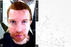 Poly is a new geometric drawing app for the iPad by Seoul-based interaction designer Jean-Christophe Naour.