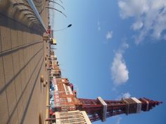Blackpool Tower and Headland April 2012