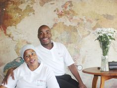 World map wallpaper. Visit 3@Marion Guesthouse for great rates and spectacular service. Pretoria.