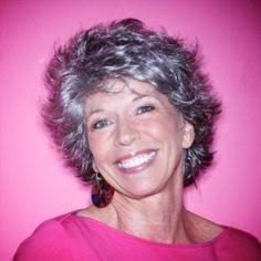 Short Curly Haircut for Women Over 50: Lively Curls in Razored Cut ...