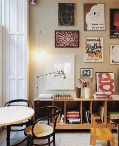 "Curated Copenhagen on Instagram: ""Inspiration | @cocohotel.dk via @metteseerup ⚡️⚡️⚡️ . . . #colorfulart #colorfulliving #homestyle #interiør #interiordecoration #homedecor…"" Gallery Wall Frames, Frames On Wall, Scandi Living, Interior Decorating, Interior Design, Stylish Home Decor, Home Decor Inspiration, My Room, Decoration"