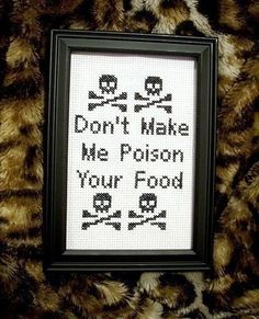 Thrilling Designing Your Own Cross Stitch Embroidery Patterns Ideas. Exhilarating Designing Your Own Cross Stitch Embroidery Patterns Ideas. Cross Stitch Quotes, Cross Stitch Art, Cross Stitching, Cross Stitch Embroidery, Embroidery Patterns, Funny Embroidery, Cross Stitch Kitchen, Funny Cross Stitch Patterns, Cross Stitch Designs