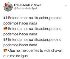 Imagenes de Chistes #memes #chistes #chistesmalos #imagenesgraciosas #humor What Meme, Spanish Jokes, Frases Humor, Haha, Spain, Funny Memes, Sayings, Instagram, Quotes