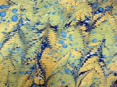 Marbled Paper | Lili's Bookbinding Blog