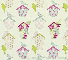 Thornbury Collection Bird Boxes – Sorbet – Ashley Wilde