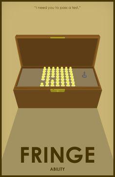 "Fringe - ""Ability"" Season1 - David Robert Jones and his box of lights."
