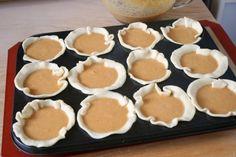 Pumpkin Pie Muffin Tin Filling