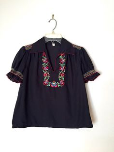 A personal favorite from my Etsy shop https://www.etsy.com/listing/249605097/vintage-60s-70s-ethnic-hand-embroidered