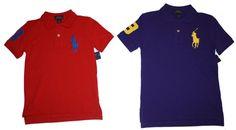 Ralph Lauren Boys Big Pony Mesh Polo Shirt Cotton Short Sleeves #RalphLauren #Everyday