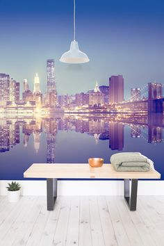 From mesmerising skylines to Brooklyn Bridge. You can bring the Big Apple into your home with our New York city wall murals.