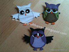 Halloween Owls.