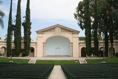 The Redlands Bowl...where free plays, concerts and musicals are put on