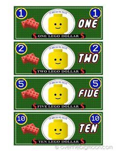 lego money1 thumb Free Printable Lego Money! Intent to use it for classroom behavior management