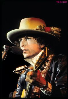 Bob Dylan and his awesome hat