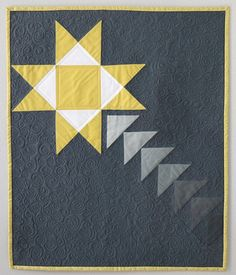 Shooting Star Mini Quilt PDF Pattern - Freshly Pieced Quilt Patterns - 1