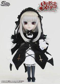 Muñeca Suigintou 30 cm. Rozen Maiden. Pullip Estupenda réplica de la muñeca del personaje llamada Suigintou de 30 cm que podemos ver en el exitoso manga/anime de Rozen Maiden. Una muñeca que sin duda te encantará si eres fan que es 100% oficial y licenciada.