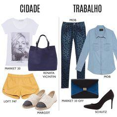Compre moda com conteúdo, www.oqvestir.com.br #Look #Work #City #Love #Shop