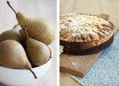 En nem og super lækker opskrift på hjemmelavet pærekage som smager helt vildt dejligt saftigt og skønt - få opskriften på den gode kage