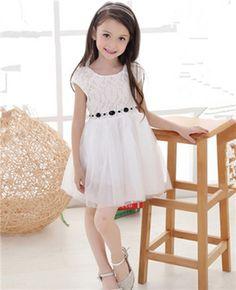 $9.47 (Buy here: https://alitems.com/g/1e8d114494ebda23ff8b16525dc3e8/?i=5&ulp=https%3A%2F%2Fwww.aliexpress.com%2Fitem%2F2015-Summer-Korean-Girls-Princess-Dress-Kids-Diamond-Belt-Lace-Dress-Children-Clothing%2F32470006758.html ) 2016 Children Baby Girl Prom Clothes Summer Flower Girls Dresses for Party And Wedding Kids Lace Princess Sofia Tutu Dress for just $9.47