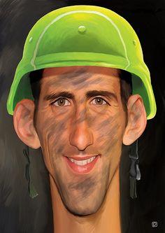 Novak Djokovic by Dejan Djurovic
