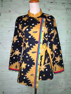 Mode Batik, Blouse Batik, Kurta Neck Design, Sewing Clothes, Ethnic, Dresses With Sleeves, Formal, Long Sleeve, Model