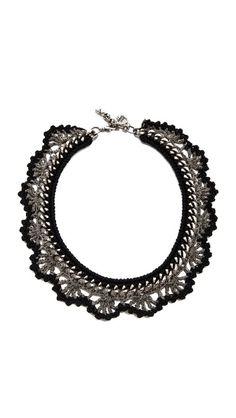 Venessa Arizaga Chain Reaction Necklace