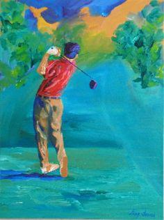 Threading The Needle... #golf #art