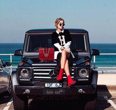 Gucci and Mercedes Benz