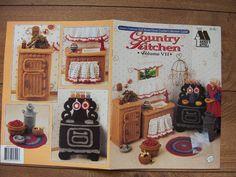Vintage 1993 crochet pattern Fashion doll Barbie furniture COUNTRY KITCHEN volume 7