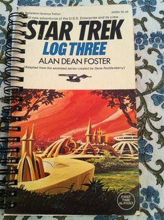 Star Trek Notebook by Merrittorious on Etsy, $5.00