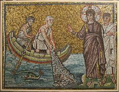 Miraculous Draught of Fishes Date: early 20th century (original dated early 6th century) Culture: Byzantine