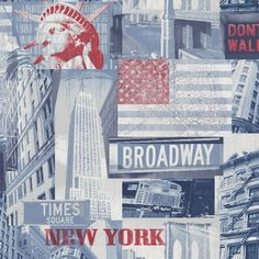 1000 images about new york themed room on pinterest for New york wallpaper rolls