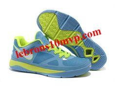 Nike Zoom Lebron 8(IIX) Low Shoes Blue/Green