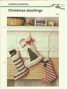 Christmas Stockings crochet pattern download