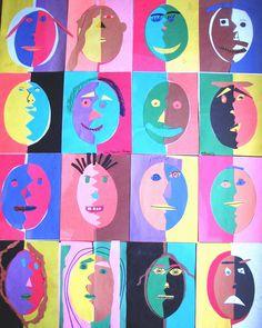 Faces----Paper cuts