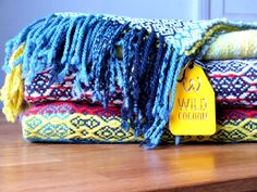 blankets cowls and scarves from Wild Cocoon, Hand Woven in Ireland