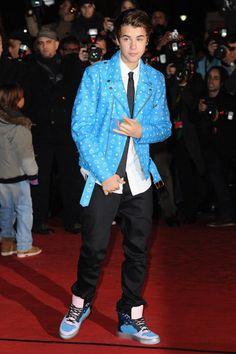 Justin Bieber: Style Transformation: Monogram Monger