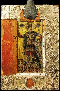 Sassoferrato-Italia Η εικόνα του Αγίου Δημητρίου από το Σασοφεράτο της Ιταλίας.