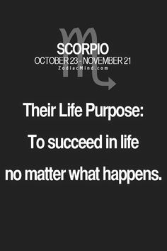 Scorpio Quotes : Picture Quotes - Scorpio Traits - Scorpio Sayings Le Zodiac, Scorpio Zodiac Facts, Scorpio Traits, Scorpio Horoscope, Scorpio Quotes, My Zodiac Sign, Zodiac Quotes, Pisces, Aquarius