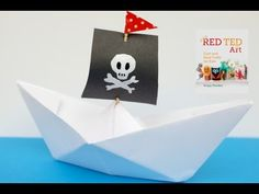 How to... make a Paper Boat - Red Ted Art's Blog