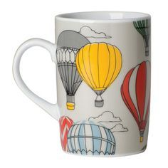 hot air balloon mug - Google Search